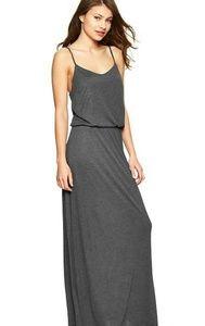 Gap gray maxi dress